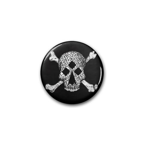 "Badge RDM ""Tête de Mort"" / Ø 38 mm"