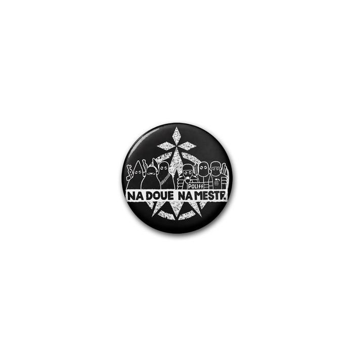 Badge na Doué na Mestr noir / Ø 38