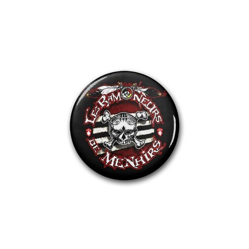"Badge RDM ""Tête de Mort 2"" / Ø 38 mm"