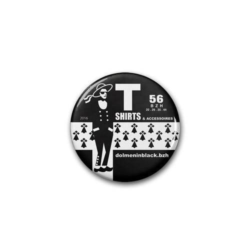 Badge Dolmen in Black 2