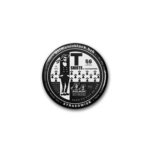 "Badge DIB ""v3"" / Ø 38 mm"
