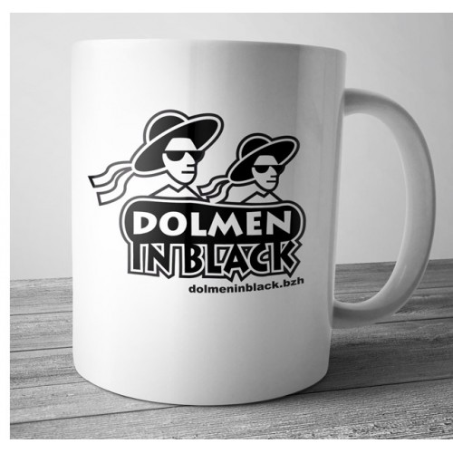 Mug Dolmen in Black v6