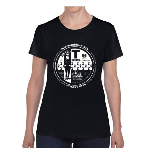 Tee-shirt Dolmen in Black v2 Noir