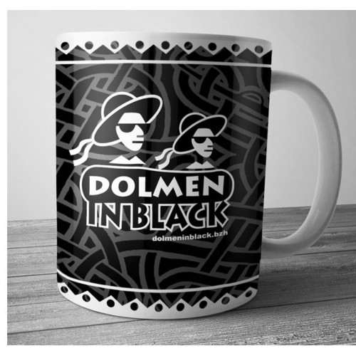 Mug Dolmen in Black 2