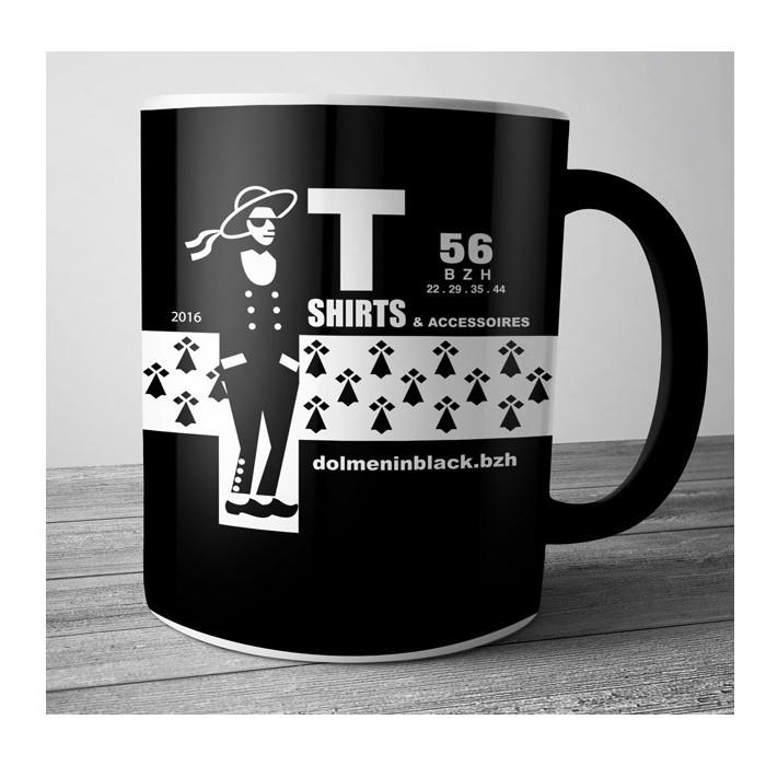 Mug Dolmen in Black v5