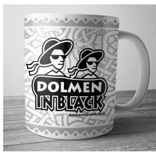 Mug Dolmen in Black v7