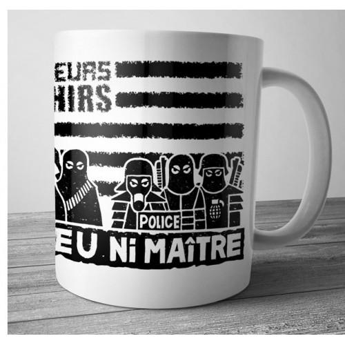 Mug Ramoneurs de Menhirs ni dieu ni maître blanc