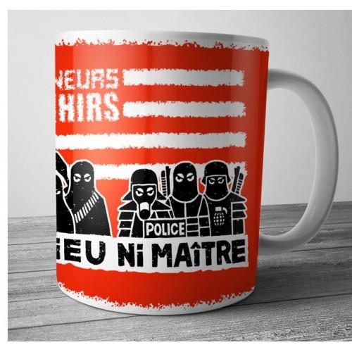 Mug Ramoneurs de Menhirs ni dieu ni maître rouge