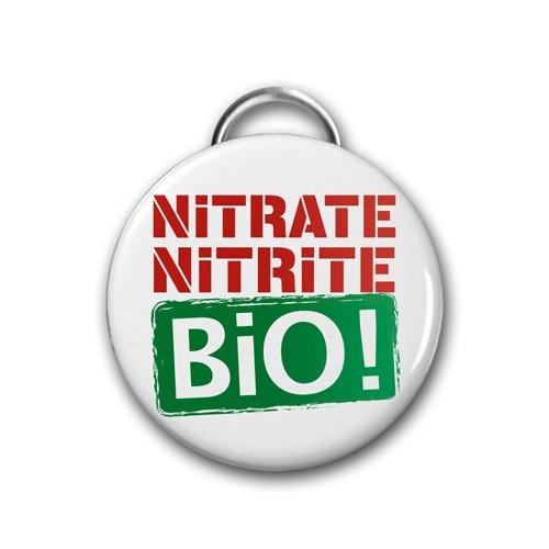 "Décapsuleur DIB ""Nitrate Nitrite Bio !"" / Ø 56 mm"