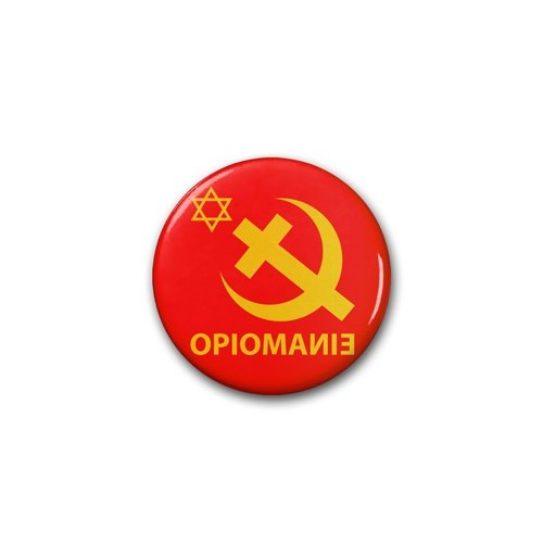 "Badge DIB"" Opiomanie"" / Ø 38 mm"