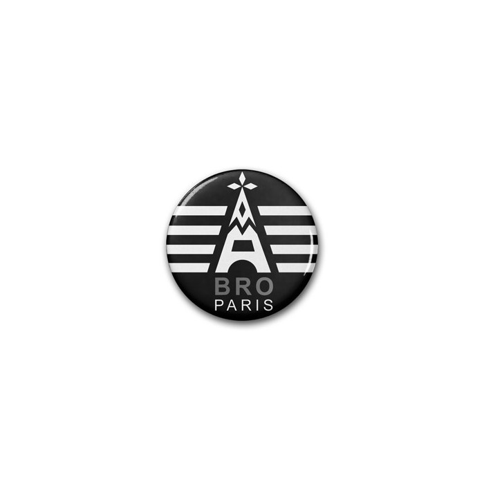 Badges DIB Bro Paris / Ø 38 mm