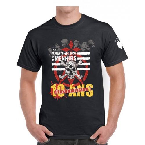 Tee-shirt RDM 10 ans d'insoumission