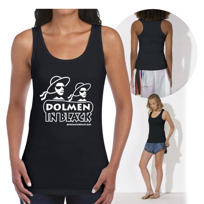 "Débardeur ""Logo Dolmen in Black"""