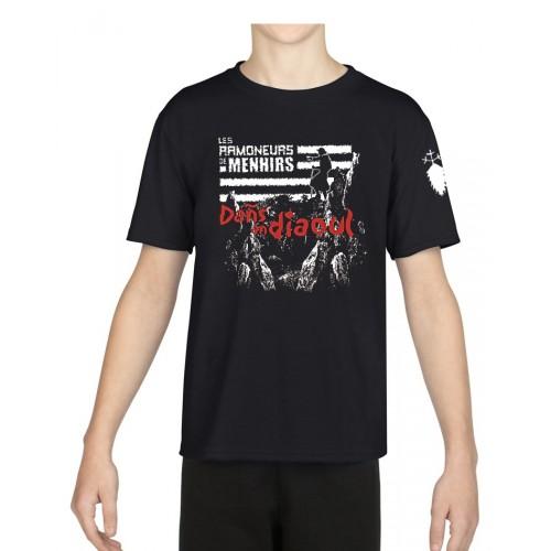 Tee-shirt Enfant Ramoneurs de Menhirs Dans an Diaoul