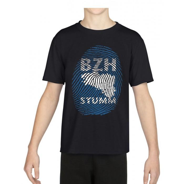"Tee-Shirt Enfant DIB ""BZH Stumm"" noir"