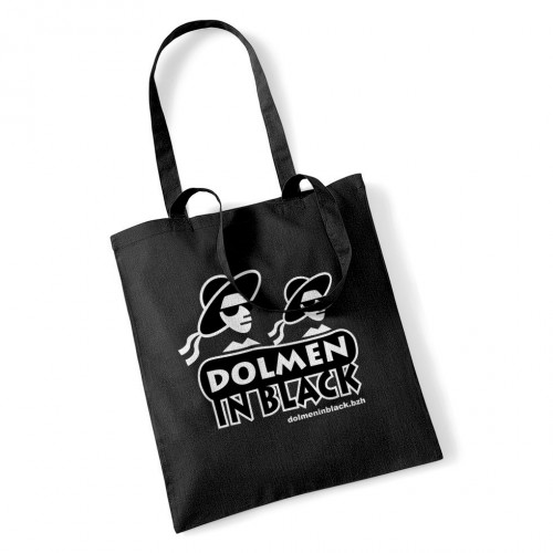 "Sac DIB ""logo Dolmen in Black"" noir"
