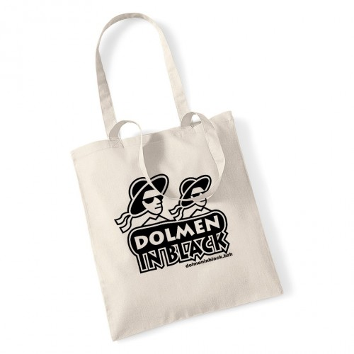 "Sac DIB ""logo Dolmen in Black"" écru"