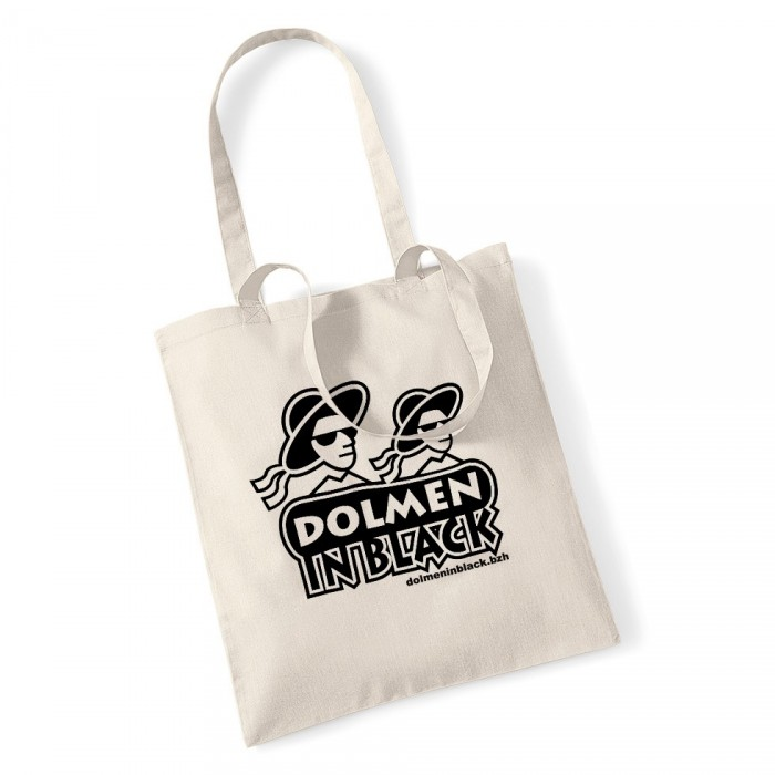 Sac logo Dolmen in Black blanc