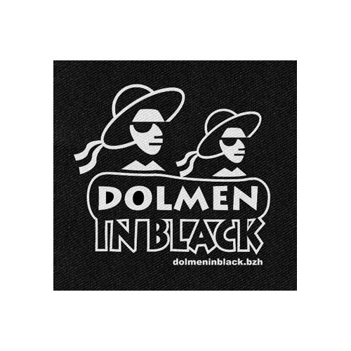 Patch DIB Logo Dolmen in Black