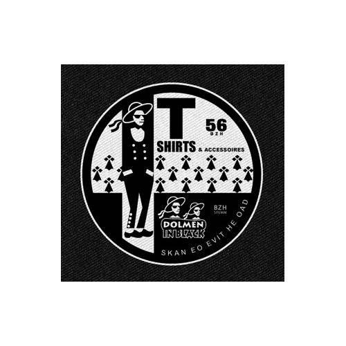 Patch DIB Logo Dolmen in Black v2