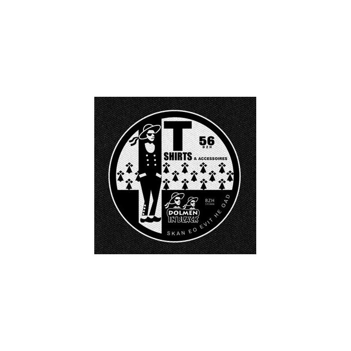 Patch DIB Logo Dolmen in Black v2