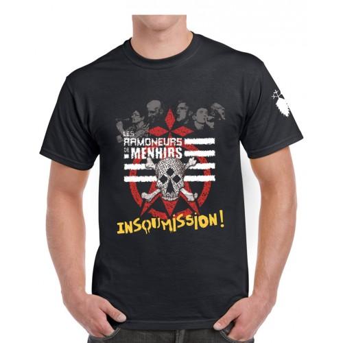 Tee-shirt 10 ans d'insoumission noir