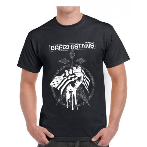"Tee-shirt homme DIB ""breizhistans"" noir"