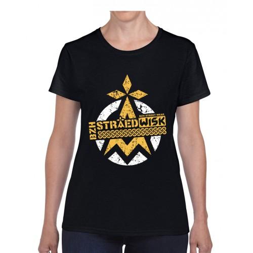 "Tee-shirt Femme DIB ""BZH Straedwisk"" noir"