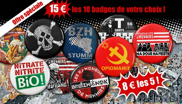 Offre spéciale badges