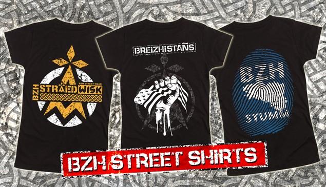 BZH Street Shirts